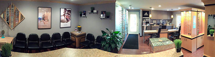 Family Vision Care Center lobby